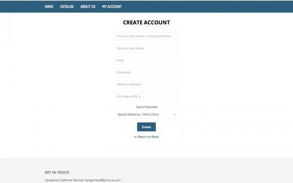 Register an Account